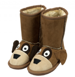 45fbc73853de Toasty Toez Unisex Dog Slipper Boots for Children .